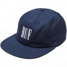 Huf Marka 6 Panel Hat - Navy