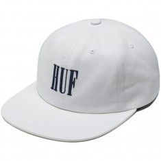 Huf Marka 6 Panel Hat - White