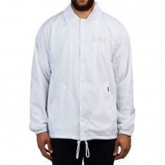 Huf Classic H Coaches Jacket - White