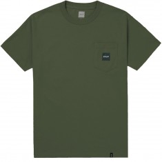 Huf Woven Label Pocket T-Shirt - Washed Green