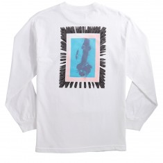 Huf Above Hell Long Sleeve T-Shirt - White