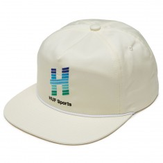Huf Network Snapback Hat - Off White