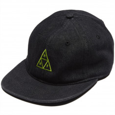 Huf Formless Denim Triple Triangle Hat - Black