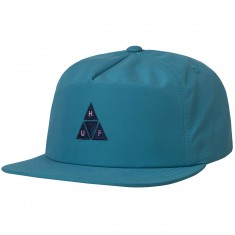Huf Nylon Triple Triangle Snapback Hat - Aqua