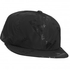 Huf Peak 6 Panel Hat - Black