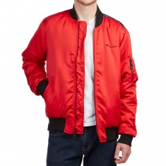 Huf Space Race Ma-1 Jacket - Red