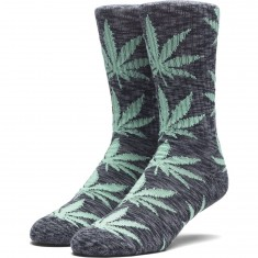 Huf Melange Plantlife Socks - Black