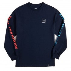 Huf Domestic Longsleeve T-Shirt - Navy