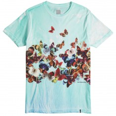 Huf Butterfly Effect Tiedye T-Shirt - Blue
