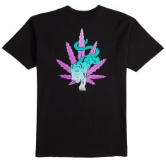 Huf Backlight Panther T-Shirt - Black