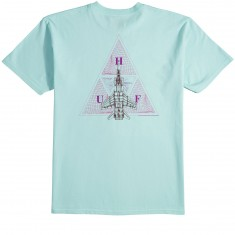Huf Disaster Ops Triple Triangle T-Shirt - Celadon