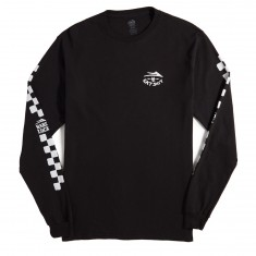 Lakai X Hard Luck Eat Shit Longsleeve T-Shirt - Black