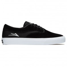 Lakai X Hardluck Riley Hawk Shoes - Black Suede