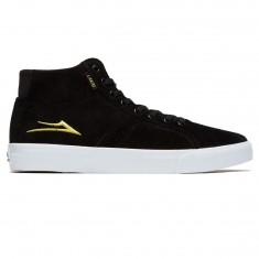 Lakai Flaco High Shoes - Black/Gold Suede
