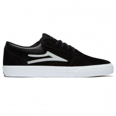 Lakai Griffin Shoes - Black/Reflective Suede