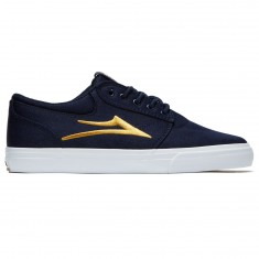 Lakai Griffin Shoes - Navy/Gold Textile