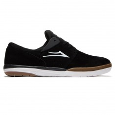 Lakai Fremont Shoes - Black/Grey Suede