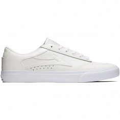 Lakai Ellis Shoes - White Leather