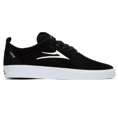Lakai Bristol Shoes - Black/White Suede