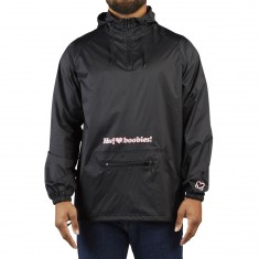 Huf X Keep A Breast BSE Anorak Jacket - Black