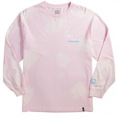 Huf X Keep A Breast BSE Tie Dye Long Sleeve T-Shirt - Pink