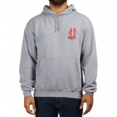 HUF X Butter Goods Devil Hoodie - Heather Grey
