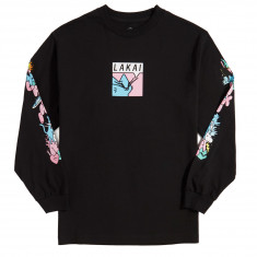 Lakai X Leon Karssen Box Cat Long Sleeve T-Shirt - Black