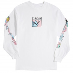 Lakai X Leon Karssen Box Cat Long Sleeve T-Shirt - White