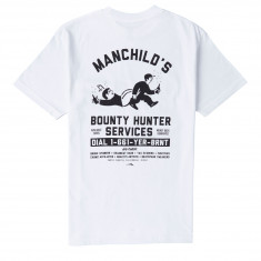 Lakai Manchilds Bounty Hunter T-Shirt - White