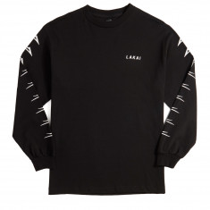 Lakai Flared Long Sleeve T-Shirt - Black