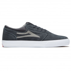Lakai Griffin Shoes - Charcoal Suede