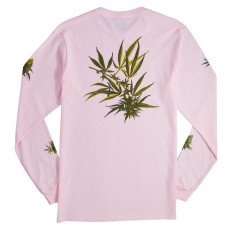 Huf Tropical Plants Long Sleeve T-Shirt - Pink