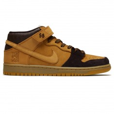 Nike SB Lewis Marnell Dunk Mid Pro Shoes - Cappuccino/Bronze/Wheat