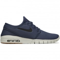 Nike Stefan Janoski Max Shoes - Thunder Blue/Black Gum/Brown