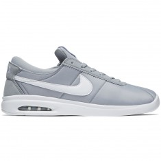 Nike SB Air Max Bruin Vapor Textile Shoes - Wolf Grey/White/White
