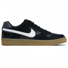 Nike SB Delta Force Vulc Shoes - Black/Light Brown Gum/Dark Grey