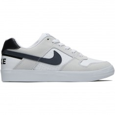 Nike SB Delta Force Vulc Shoes - White/Thunder Blue/Black