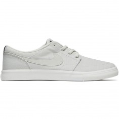 Nike SB Solarsoft Portmore II Shoes - Light Bone/Black/Summit White