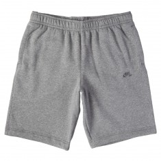 Nike SB Icon Fleece Shorts - Dark Grey Heather/Dark Steel Grey