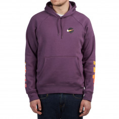 Nike SB Icon Pullover Hoodie - Pro Purple/White