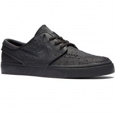 Nike Zoom Stefan Janoski L Shoes - Black/Black Anthracite