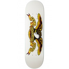 Anti-Hero Classic Eagle Skateboard Deck - White - 8.75""