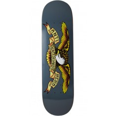 Anti-Hero Classic Eagle Skateboard Deck - Grey - 8.62""
