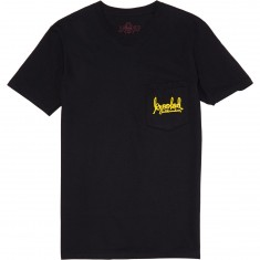 Krooked Signature Sk8 T-Shirt - Black