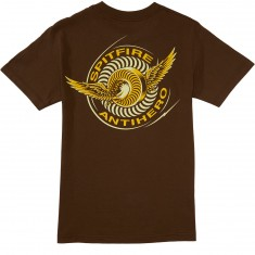 Anti-Hero X Spitfire Classic Eagle T-Shirt - Coffee