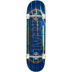 """Real Busenitz Holographic Oval Skateboard Complete - 8.18"""""""