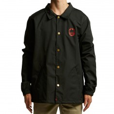 Spitfire Head Blur Jacket - Black