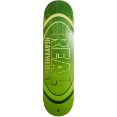 Real Heavyweights Dark Green Skateboard Deck - 8.25""
