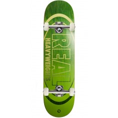 Real Heavyweights Dark Green Skateboard Complete - 8.25""