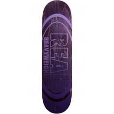 Real Heavyweights Purple Skateboard Deck - 8.38""